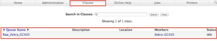 Classes-status