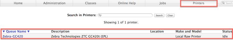 Printer-status