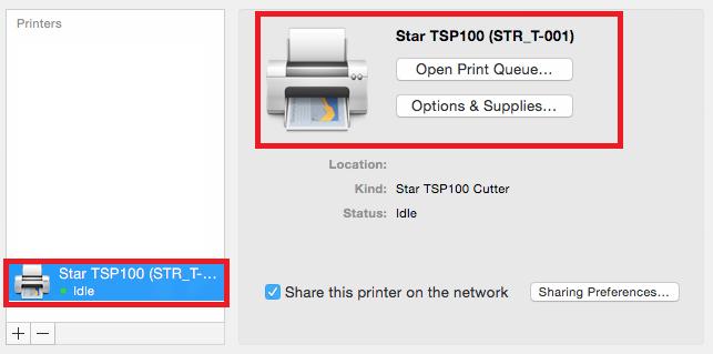 Printer is ready