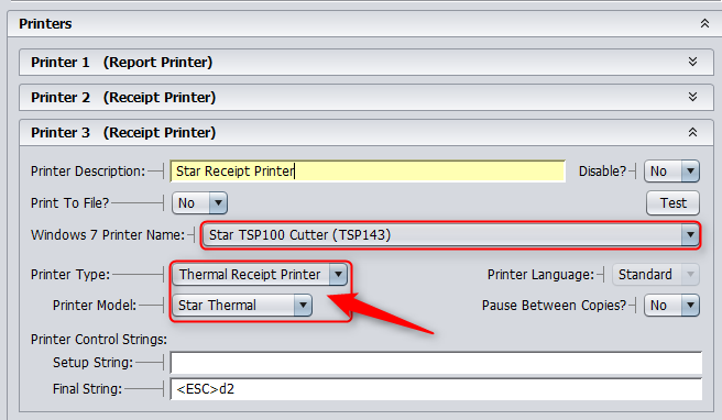 Star TSP Printer Setup – Windows | CerTek Software