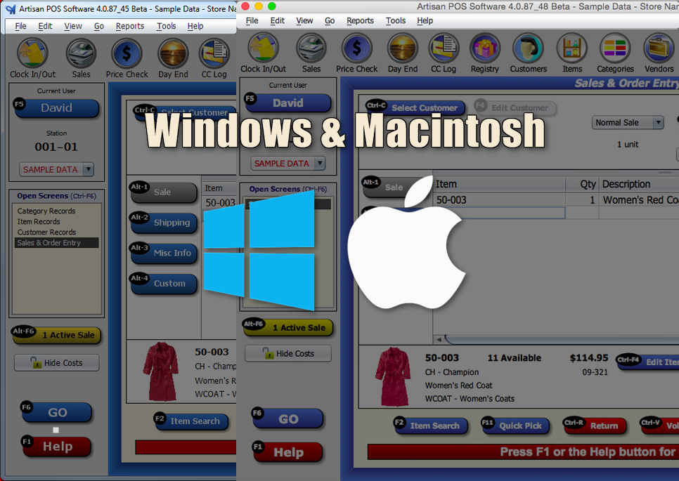 Window & Macintosh